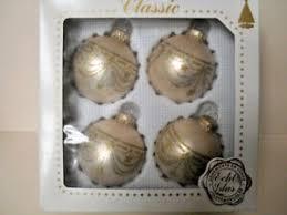 Details Zu Christbaumschmuck Glaskugel Krebs Rosenheim 4 Stück 6 Cm Rosé Gold Weihnachten