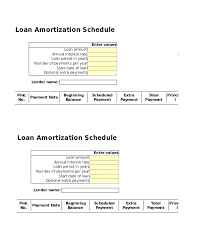 amortization schedule with extra payments spreadsheet loan payment spreadsheet template loan amortization schedule