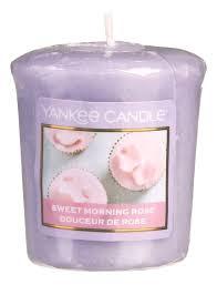 <b>Ароматическая свеча</b> Sweet <b>Morning Rose</b> Yankee Candle купить ...