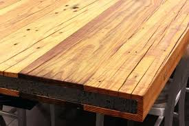 stain wood countertop reclaimed wood best waterproof finish for wood countertop can you stain ikea wood