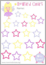 Free Star Chart Mommalicious Parenting Website Reward Charts Free