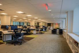 Design office space designing Industrial Agencies Drag Employees Toward Open Office Designs The General Services Administration Tore Down Walls In Its The Endearing Designer Director Office Design Paulshi