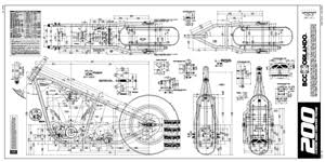 tyual frame chopper plans info