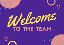 Welcome Card Templates Yellow And Purple Illustrated Cosmic Welcome Card