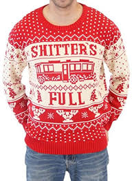 The National Lampoons Christmas Vacation \u0027Shitter\u0027s Full\u0027 Ugly Sweater \u2013 Buy It Here 44 Best Ideas For Men \u0026 Women in 2019 Funny