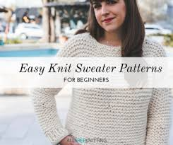 Free Knitted Vest Patterns Unique 48 Easy Knit Sweater Patterns For Beginners AllFreeKnitting