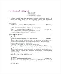 Sample Resume For Paraprofessional Position Paraprofessional Resume