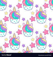 Cupcake unicorn kawaii magic food ...