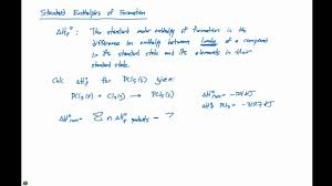 5 7 Standard Enthalpies Of Formation