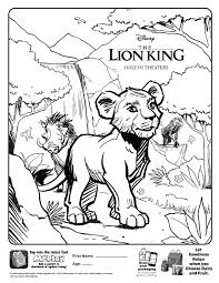 Here you can find lots of free lion king coloring pages that you can easily print out and give it to your kids. Disney Page 29 Kids Time
