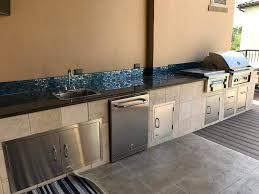 prefab outdoor kitchen frames indoor outdoor kitchen designs built in bbq kitchens