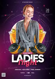 Club Flyer Templates Free 042 Night Club Flyer Template Preview34 Awesome Ideas Ladies