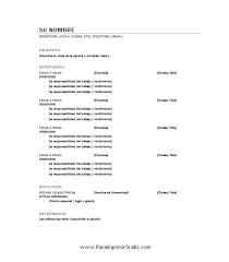 Modelos De Resume Gratis Modelos De Curriculum Vitae En