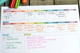 Weekly Planner Printable March 2017 Agenda Buildingcontractor Co