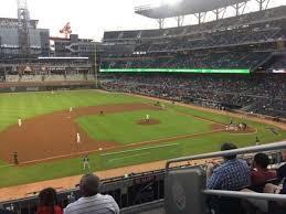 Suntrust Park Section 235 Home Of Atlanta Braves