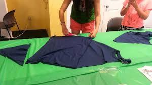 DIY HOW to make a no sew <b>apron</b> from a t-shirt - YouTube