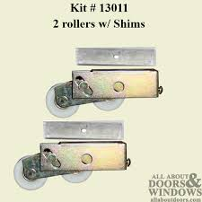 tandem patio sliding glass door roller patio door roller kit