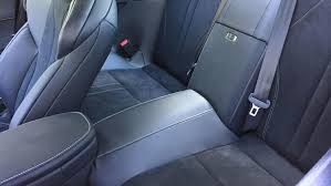 lexus lc backseat. the back seats are erect with a mere suggestion of legroom at 32.5 inches. lexus lc backseat