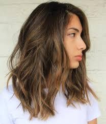 Medium Length Dark Brown Hair With