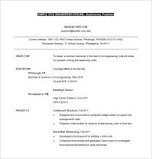 Civil Engineer Planning Resume Word Free Download