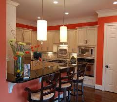Best Orange Kitchen Paint Colors Burnt Orange Painted Kitchens