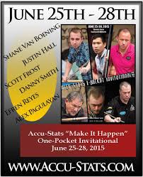 this past weekend at sandcastle billiards in new jersey the accu stats make it happen one pocket invitational le was up for grabs