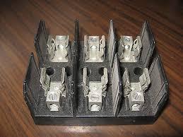 buss j60060 3cr fuse block 3 pole 60 amp 600 volt • 9 85 buss j60030 3cr fuse block 3 pole 30 amp 600 volt