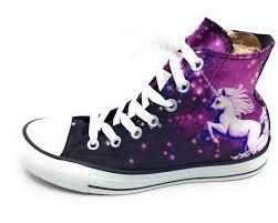 converse unicorn. converse womens unicorn chuck taylor hi top sneaker shoe purple black size 6 m and [s2b