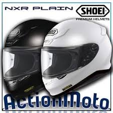 helmet helmet integral shoei nxr plain cover in fiber motorcycle