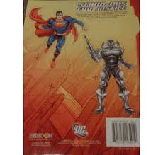 Lifestyle > baby, kids + toys > books, music + movies. Superman Jumbo Coloring Activity Book W Stand Ups 2