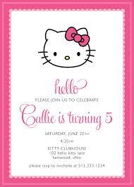 Hello Kitty Invitation Printable Hello Kitty Invitations Ideas Under Fontanacountryinn Com