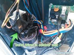 17 best images about hvac problems water heaters found burnt wires during routine maintenance check