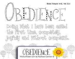 Free printable coloring pages and connect the dot pages for kids. Obey God Coloring Page Google Search Character Qualities Bible Study For Kids Bible For Kids
