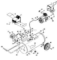 Sears craftsman air pressor parts craftsman