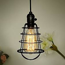caged lighting. coolwest mini vintage edison hanging caged pendant light fixtureadjustable black cord for home kitchen lighting d