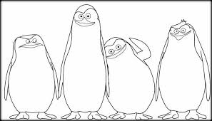 Small Picture Penguins Of Madagascar Coloring Pages Color Zini