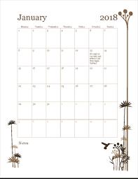 Free Microsoft Calendar Free 12 Month Calendar Mon Sun Template Free Printable