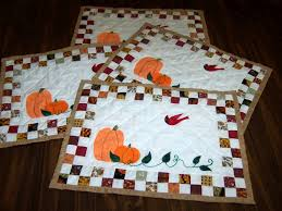 Quilted Fall Placemats Pattern – AllCrafts Free Crafts Update & Fall Quilted Placemats Adamdwight.com