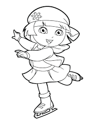 Dora Coloring Pages Printable And Coloring Pages Printable Get