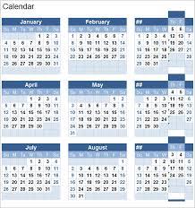 Perpetual Calendar Calendar Template Free Premium Templates