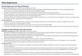 Resume Guide 9 Work Experience On A