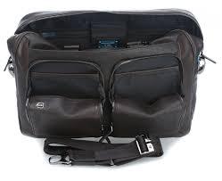 Портфель для ноутбука кожаный Piquadro, <b>Black Square</b> ...