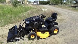 craftsman lawn tractor attachments. craftsman pro series 46\ lawn tractor attachments