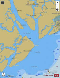 Port Royal Sound And Inland Passages Marine Chart