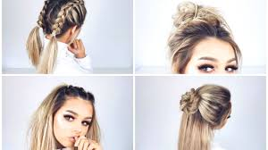 Fashion Easy Hairstyles For Shoulder Length Hair Excellent Quick