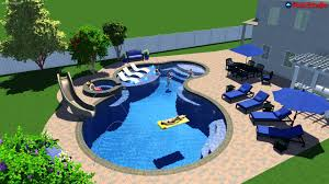 Pool Design Pool Studio 3d Swimming Pool Design Software Youtube