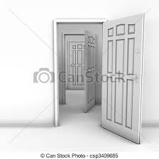 perfect open door drawing with stock ilrations of open white door to the meadows surreal