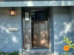 front doors cool craftsman style front door for modern ideas craftsman fiberglass dutch door with sidelight