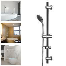 Details Zu Chrom Duschset Duschsystem Regendusche Duschen Handbrause Duschkopf Duschstange