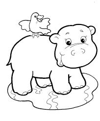 Safari Animals Template Safari Animals Coloring Pages Hockeykampen Info